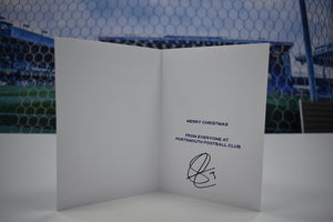 Christmas Card signed by Lee Brown!