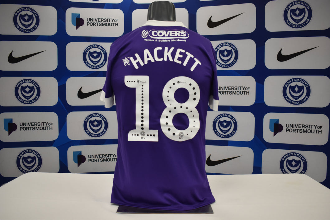 2019/20 Recco Hackett-Fairchild signed Third Shirt