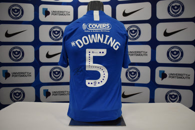 2019/20 Paul Downing signed Home Shirt