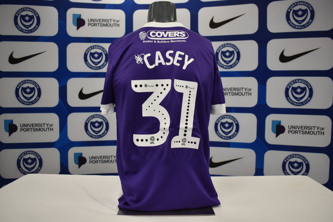 2019/20 Matt Casey signed Third Shirt