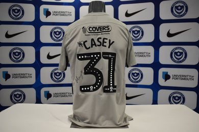 2019/20 Matt Casey signed Away Shirt