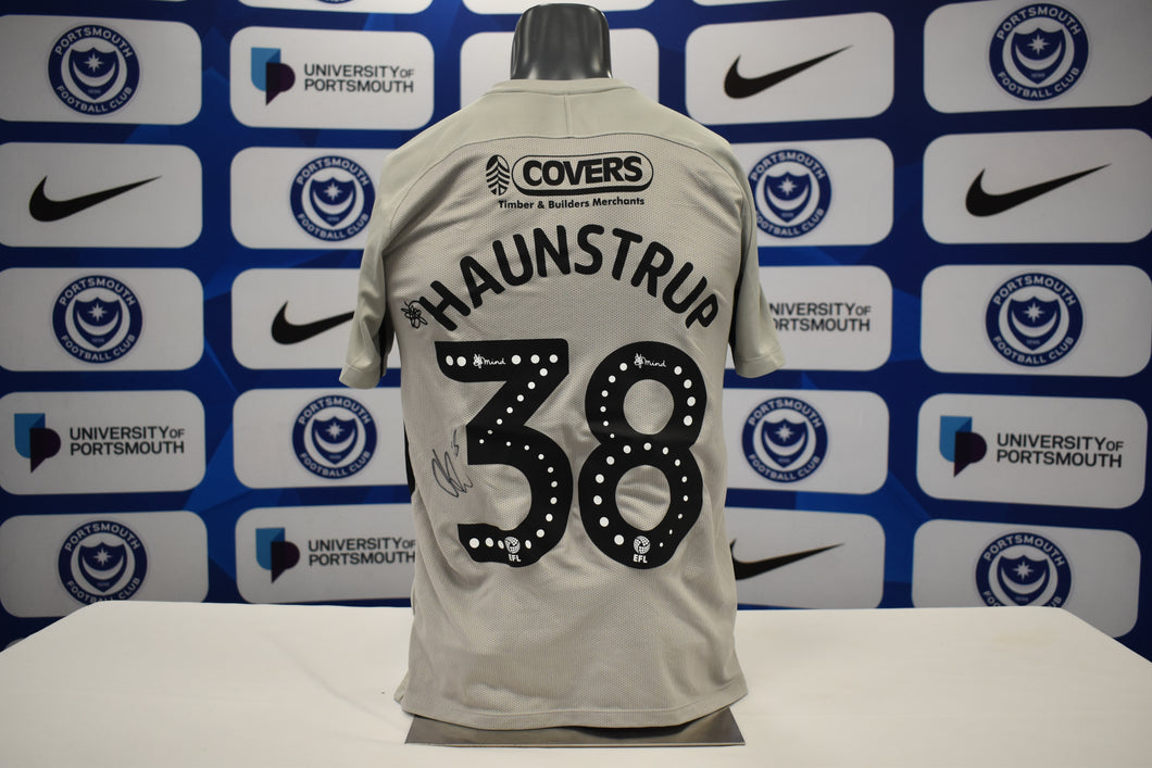 2019/20 Brandon Haunstrup signed Away Shirt