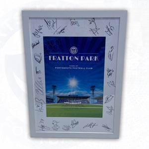 Signed Fratton Park Print
