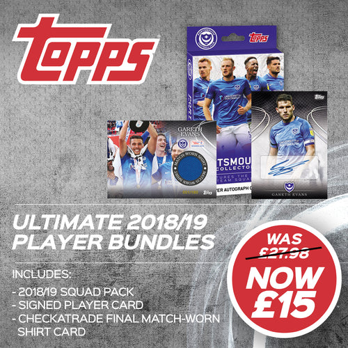 Gareth Evans 2018/19 Topps Collectible Ultimate Pack