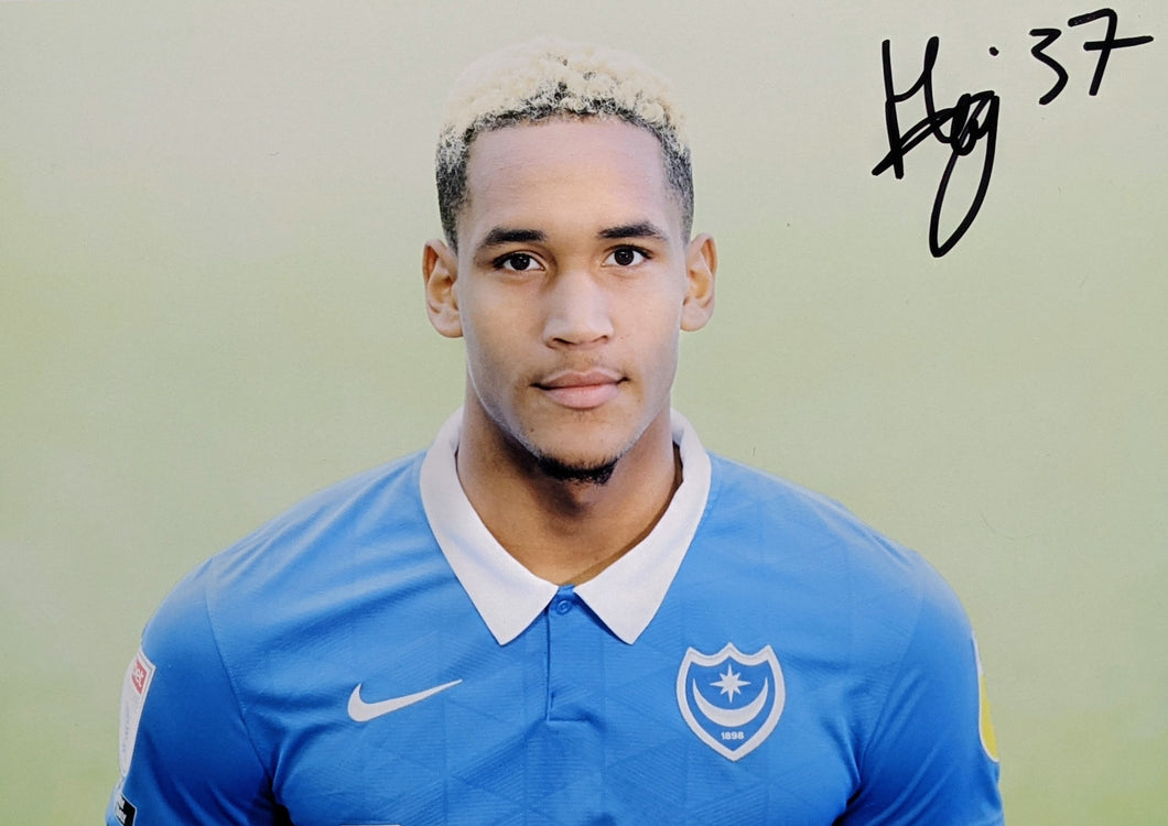 2020/21 Season Haji Mnoga Signed Photo