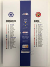 Load image into Gallery viewer, Signed Portsmouth FC Match Day Programme Versus Walsall FC