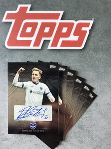 Ronan Curtis Signed Topps Card