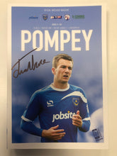 Load image into Gallery viewer, Jed Wallace Signed Portsmouth FC Match Day Programme Versus Chesterfield FC