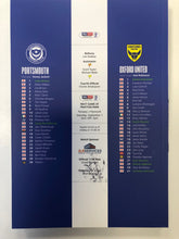 Load image into Gallery viewer, Signed by Ronan Curtis Match Day Programme Vs Oxford United FC