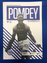 Load image into Gallery viewer, Signed Christian Burgess Match Day Programme Vs Peterborough United FC