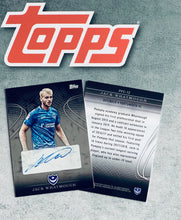 Load image into Gallery viewer, Jack Whatmough Signed Topps Card