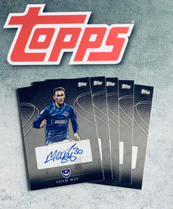 Adam May Signed Topps Card
