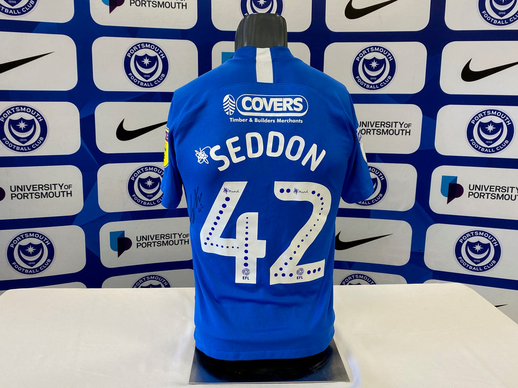 Steve Seddon 2019/20 Oxford v Pompey Playoff Shirt