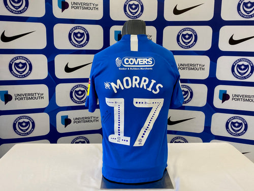 Bryn Morris 2019/20 Pompey v Oxford Playoff Shirt (match-issued)