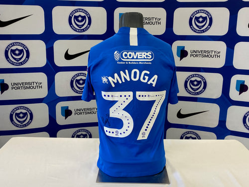 Haji Mnoga 2019/20 Pompey v Oxford Playoff Shirt (match-issued)
