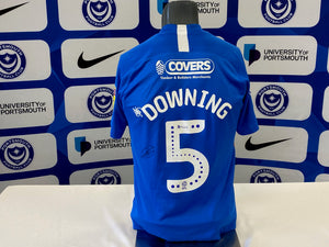 Paul Downing 2019/20 Pompey v Oxford Playoff Shirt (match-issued)