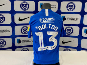 James Bolton 2019/20 Pompey v Oxford Playoff Shirt