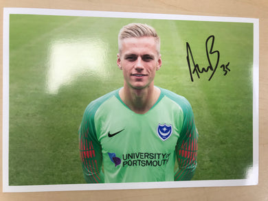 Alex Bass Signed Photo 2018/19
