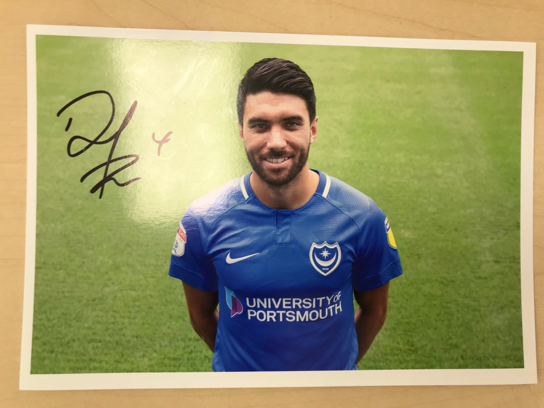 2018/19 Season Danny Rose Signed Photo