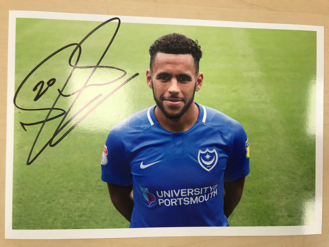 2018/19 Season Nathan Thompson Signed Photo