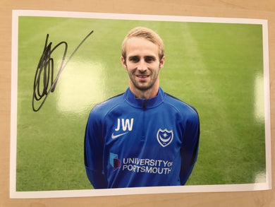 Jake Wigley Signed Photo