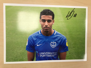 2018/19 Season Louis Dennis Signed Photo
