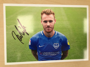 Tom Naylor Signed Photo