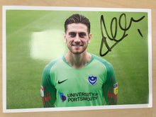 Load image into Gallery viewer, 2018/19 Season Luke McGee Signed Photo