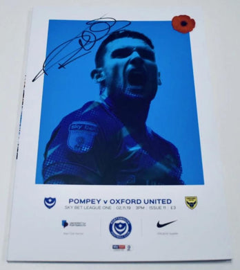 Signed Match Day Programme Vs Oxford United