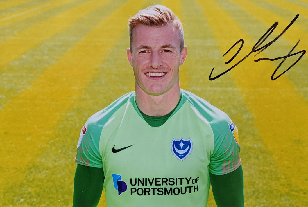 2019/20 Season Craig MacGillivray Signed Photo