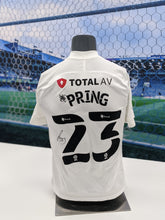 Load image into Gallery viewer, 2020/21 Season Signed Cameron Pring Away Shirt
