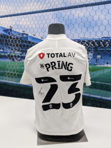 2020/21 Season Signed Cameron Pring Away Shirt