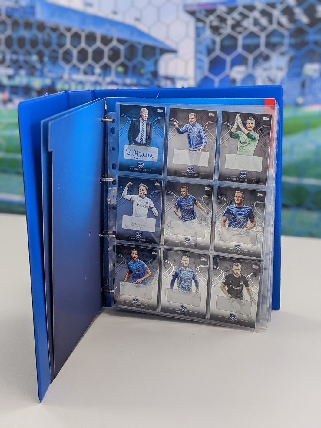 PFC Collectible Ultimate Squad Card Ring Binder with Topps Card Packs