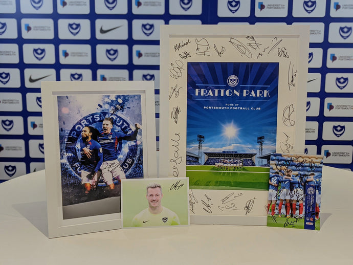 Signed Fratton Park Print Bundle