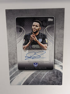 Nathan Thompson's Wembley Changing Room Locker Topps Card