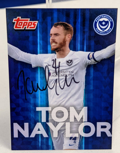 Tom Naylor 2020/21 Hand Signed Topps Card