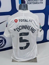 Load image into Gallery viewer, 2020/21 Papa John's Wembley Final Paul Downing Signed Away Shirt