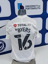 Load image into Gallery viewer, 2020/21 Papa John's Wembley Final George Byers Signed Away Shirt