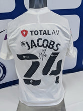 Load image into Gallery viewer, 2020/21 Papa John's Wembley Final Michael Jacobs Signed Away Shirt