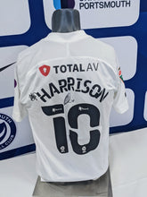 Load image into Gallery viewer, 2020/21 Papa John's Wembley Final Ellis Harrison Signed Away Shirt
