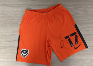 2020/21 Bryn Morris Signed Match Issued Third Shorts