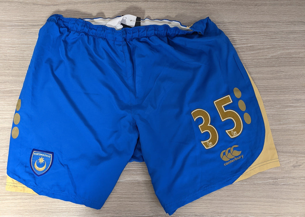 2008/2009 Mark Wilson Match-Worn Home Shorts