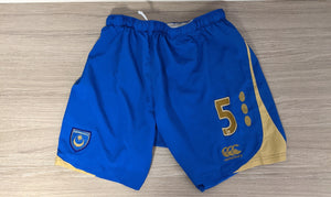 2008/2009 Glen Johnson Match-Prepared Home Shorts