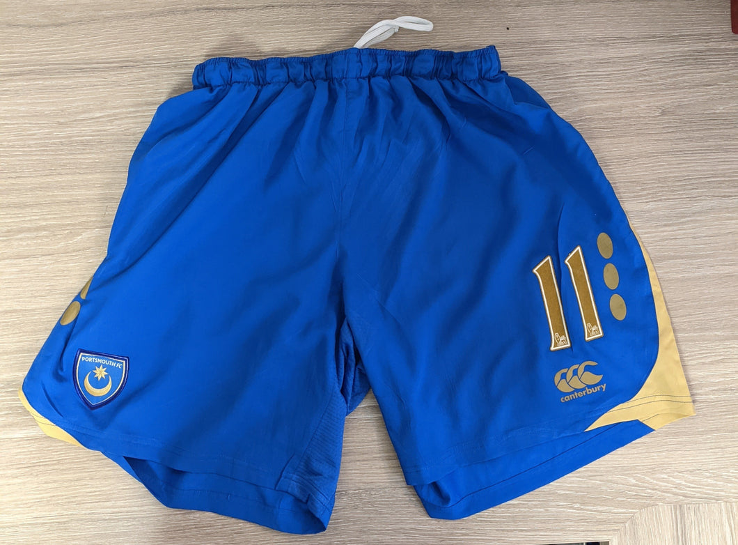 2008/2009 Jerome Thomas  Match-Prepared Home Shorts
