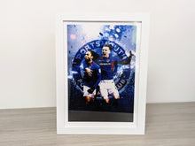 Load image into Gallery viewer, Limited Edition Signed & Framed Marcus Harness & Ronan Curtis Celebration Print