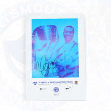 Load image into Gallery viewer, Leasing.com Trophy Signed Match Day Programme Vs Northampton Town