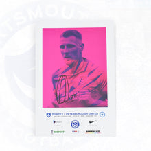 Load image into Gallery viewer, Signed by Ellis Harrison Match Day Programme Vs Peterborough United FC