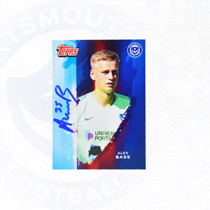 Alex Bass 2019/20 Signed Topps Card