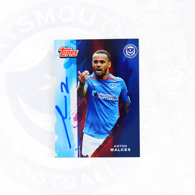 Anton Walkes 2019/20 Signed Topps Card