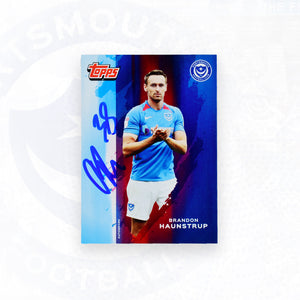 Brandon Haunstrup 2019/20 Signed Topps Card